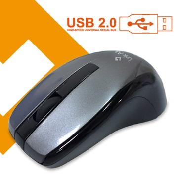Link All  M3088BG光學滑鼠/USB(鐵灰)