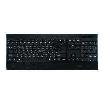 WINTEK 文鎧 WK930新太空船超薄多媒體鍵盤/USB(黑)(福利品出清)