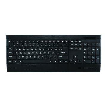 WK930新太空船超薄多媒體鍵盤/USB(黑)