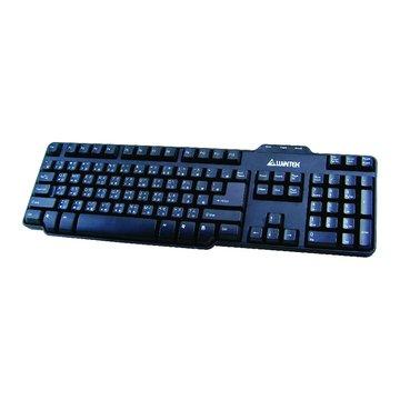 黑/WK650獵豹背光遊戲鍵盤/USB(福利品出清)