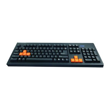 WINTEK WK750機械式鍵盤/USB(黑)