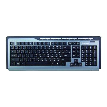 藍/WK290U音樂快手多媒體鍵盤/USB(福利品出清)