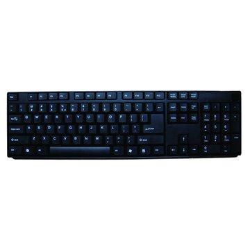 黑/WK560U仿機械式鍵盤/USB(福利品出清)