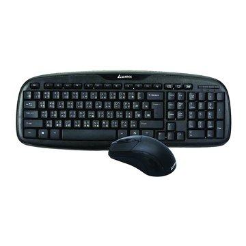 WM700黑武士鍵鼠組/USB(黑)