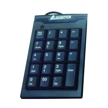 WINTEK 文鎧 TK70-2數字鍵盤/USB(黑)