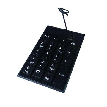 WINTEK 文鎧 TK60剪刀腳數字鍵/USB(黑)