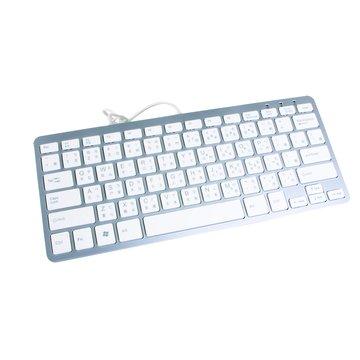 白/WK690迷你鍵盤/USB(福利品出清)