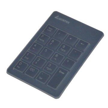 WINTEK 文鎧 TK90小天使數字鍵盤(黑)(附防塵膜)/USB