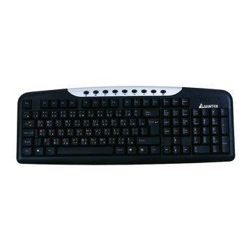 WK950U多媒體鍵盤/USB(黑)