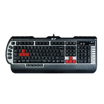 黑/X7絕招15編程競技鍵盤/USB(福利品出清)
