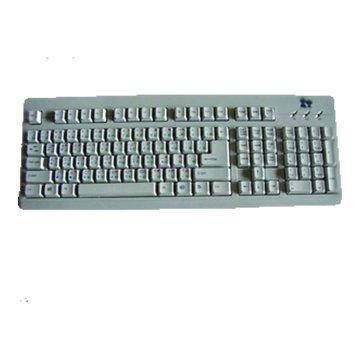 白/風速手標準鍵盤/PS2(福利品出清)