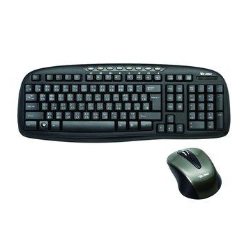 TCK968 無線鍵鼠組(黑)(福利品出清)