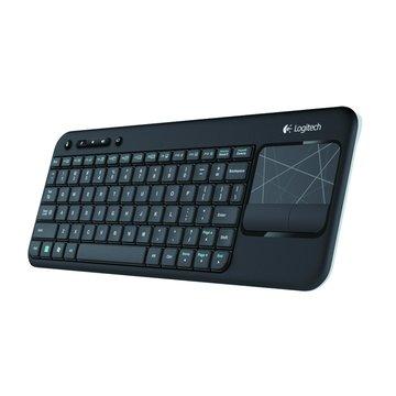 黑/K400無線觸控板鍵盤(福利品出清)