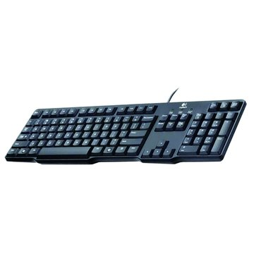 Logitech 羅技 K100經典鍵盤/PS2(黑)