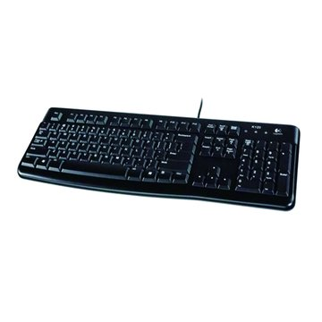 Logitech 羅技 K120有線鍵盤/USB(黑)