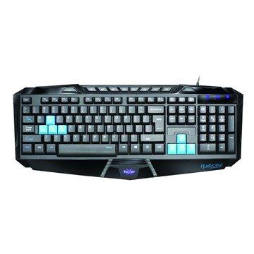 FOXXRAY FXR-SK02颶風戰狐電競鍵盤/USB(黑)