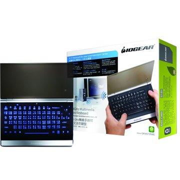 黑/GKM571R 2.4G無線多媒體迷你鍵盤/USB(福利品出清)