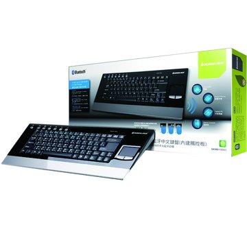 黑/GKM611BW5 藍芽中文鍵盤(福利品出清)