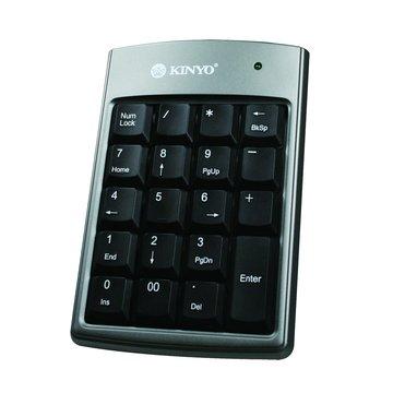 KBX02數字鍵盤/USB(鐵灰黑)(福利品出清)