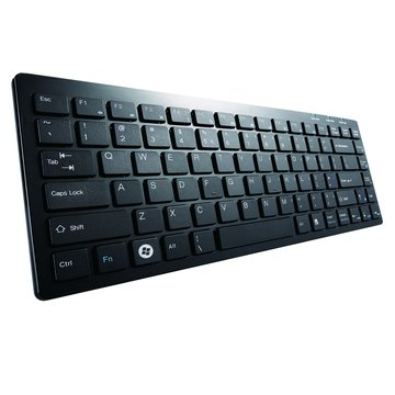 黑/C381超薄迷你巧克力鍵盤/USB(福利品出清)