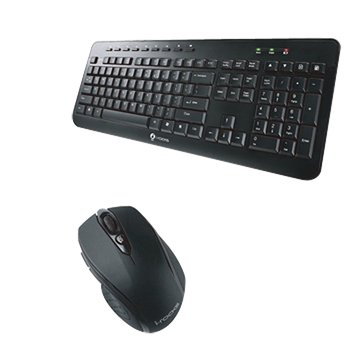 IRK15RP 無線鍵鼠組(黑)