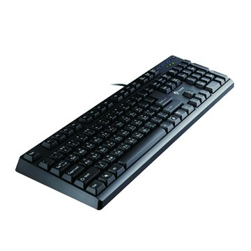 i-rocks 艾芮克 KR-6260遊戲鍵盤/USB(黑)