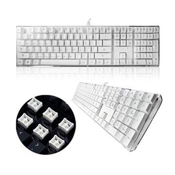 i-rocks IK6-WH 水晶鍵盤/USB(白)