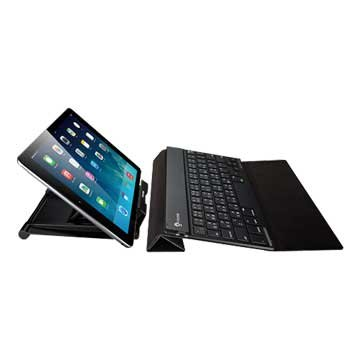 IRK36B超薄無線攜帶型藍牙鍵盤(黑)(福利品出清)
