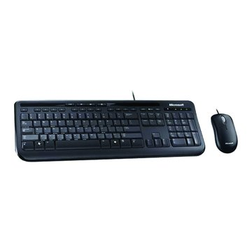 Microsoft 600標準鍵鼠組/USB(黑)