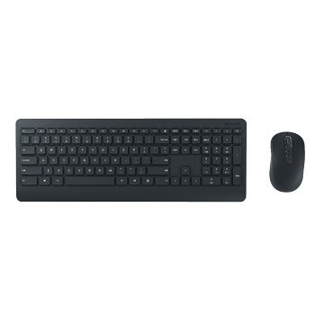 Microsoft 900無線鍵鼠組/USB(黑)