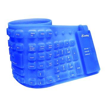 藍/KB-602軟式鍵盤/USB(福利品出清)