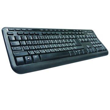 KB518多媒體鍵盤/USB(黑)(福利品出清)
