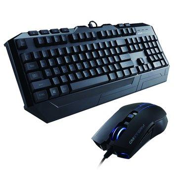 破壞者電競鍵盤滑鼠組/U+U(黑)(福利品出清)