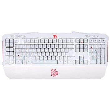 拓荒者MEKA G-Unit黑軸電競機械式鍵盤(白)(福利品出清)