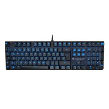 ROCCAT 德國冰豹 SOURA 青軸有線鍵盤(中文)(黑)