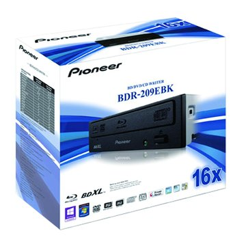 BDR-209EBK/黑 藍光燒錄器