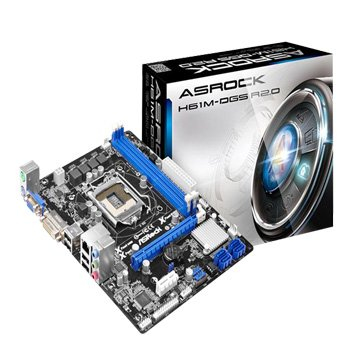 ASROCK H61M--DGS R2.0 INTEL H61 LGA