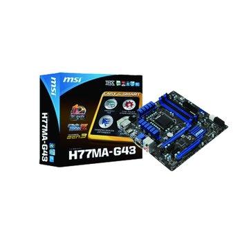 H77MA-G43/H77 主機板