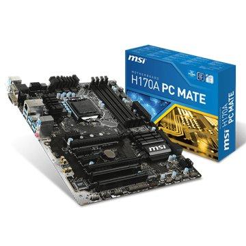 H170A PC MATE/1151主機板