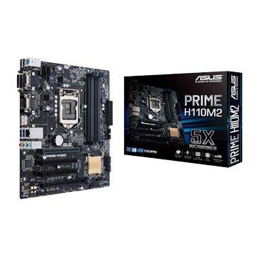 ASUS PRIME H110M2 -PCI/COM PORT主机板