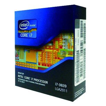 Core I7-3820/3.6GHz/四核心/2011無風扇