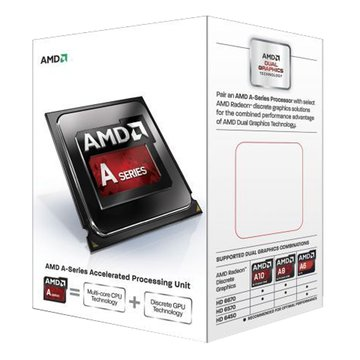 APU A4-6300/3.7GHz/雙核心/FM2