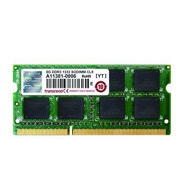 DDR3 1333 8G JETRAM SO-DIMM NB用