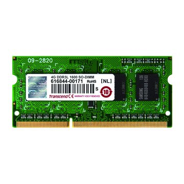 DDR3L 1600 4G SO-DIMM NB用(1.35V)