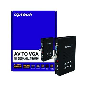 AV TO VGA影音訊號切換器