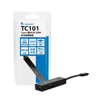 Uptech TC101 Type-C轉4K2KHDMI多功能轉換器