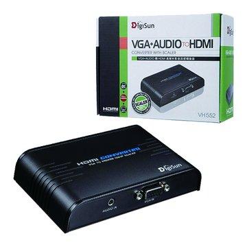 DigiSun VH552 VGA+Audio轉HDMI影音訊號轉換器