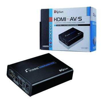VH581 HDMI轉AV/S影音訊號轉換器