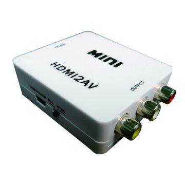 HDMI-101 HDMI轉AV(3RCA)訊號轉接盒