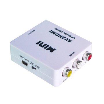 HDMI-107 AV轉HDMI轉換器